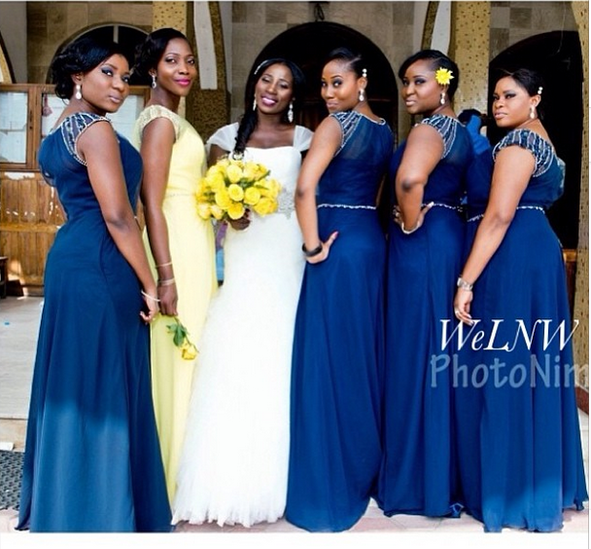 WeLNW Bridesmaids Inspiration! Vol. 1 - We Love Naija Weddings
